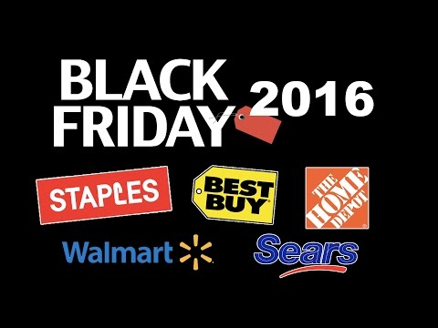 What's in Junt's Cart? - Black Friday 2016: Staples, Home Depot, Sears, Wal-Mart, and Best Buy