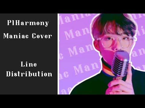 "Download P1HARMONY ""Maniac"" Cover | Line Distribution"