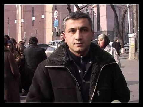 Yerevan Mayor Strips Street Traders of Right to Work