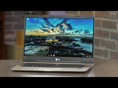 A new player weighs in with the LG gram laptop line