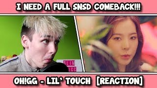 Girls' Generation - Oh!GG - Lil' Touch MV REACTION