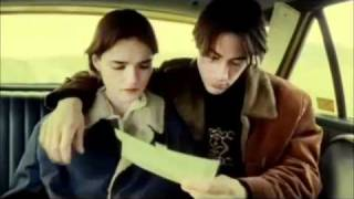 same scene from MOPI and Endless Idaho - Keanu Reeves and Chiara Caselli