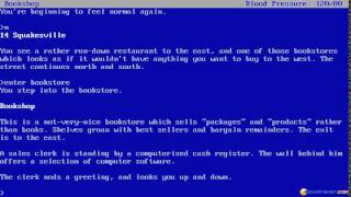 Bureaucracy gameplay (PC Game, 1987)