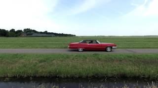 Drone beelden NCRV 'Jan rijdt rond' - Rode Cadillac vanuit de lucht