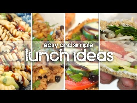 LUNCH IDEAS - My Favorite Vegetarian & Vegan Lunches!