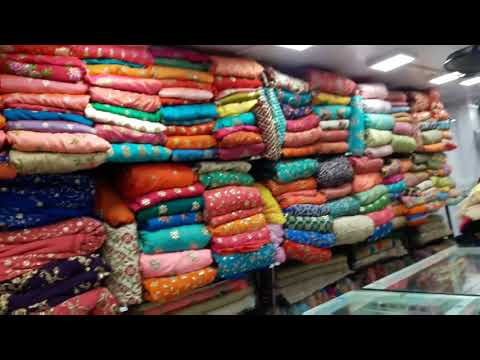 Wedding sarees very cheap rate | Traditional sarees | Market in mumbai Bhuleshwar Market Mumbai