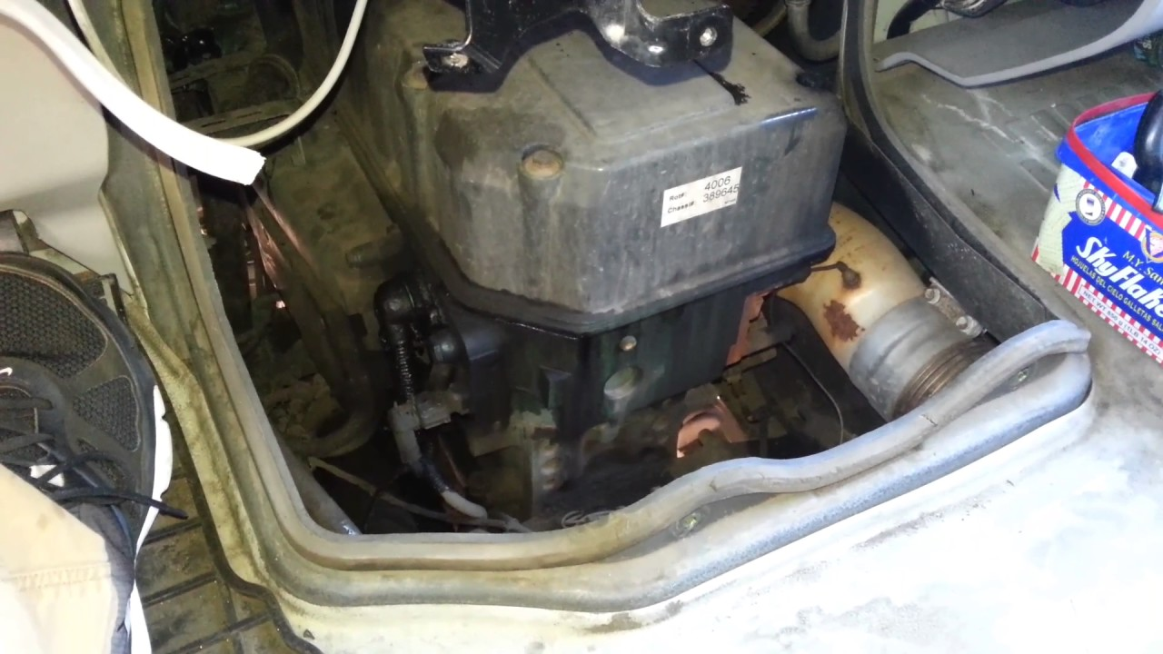 hight resolution of volvo d12 engine noise inside the cab