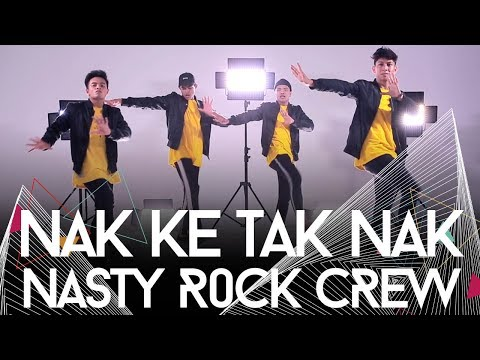 Nak Ke Tak Nak by Zizi Kirana | Nasty Rock Crew Dance Cover