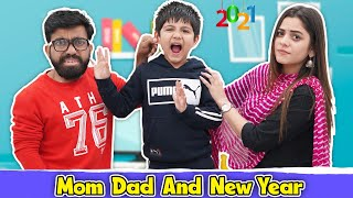 Mom Dad And New Year | Ridhu Pidhu