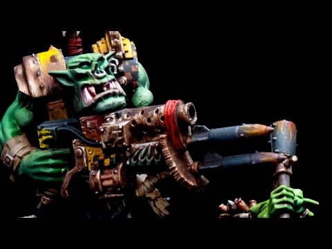 How to paint BAD MOONS Ork Nob by Lester Bursley