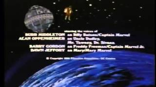 Shazam 1981 Cartoon - Closing Credits