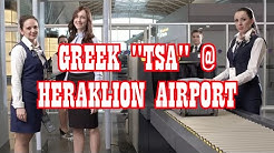 Going though Heraklion Airport (HER) Security with Hidden Cam