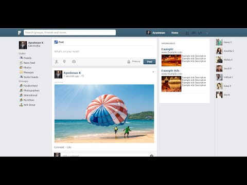 How To Make A Website Like Facebook I Create A Social Network Website Like Facebook