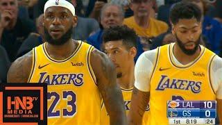 Los Angeles Lakers vs Golden State Warriors - 1st Qtr Highlights | October 5, 2019 NBA Preseason