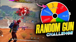 Now a wheel will decide what weapon I'll use⁉️ (Funniest challenge ever😂)