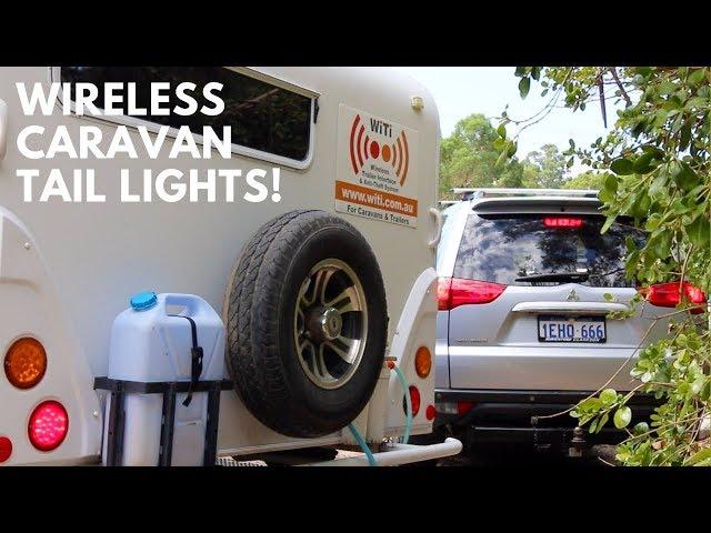 Wireless Caravan Tail Lights!