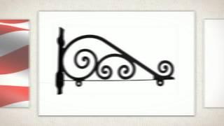 Garden Hose Holder, Hose Stake, Decorative S Hooks And Sign Pole Brackets