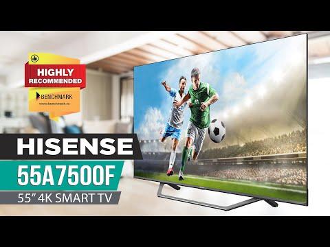Hisense 55A7500F 4K TV Review - Improvements All Around