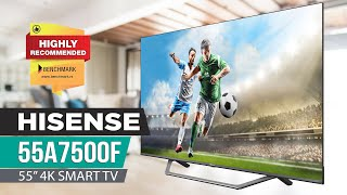 Hisense 55A7500F 4K TV Review - Improvements All Around