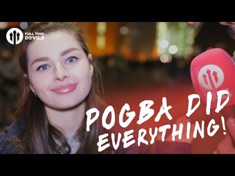 Pogba Did Everything! | Manchester United 4-0 Feyenoord | FANCAM