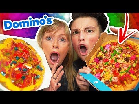 REAL FOOD VS GUMMY FOOD CHALLENGE!!