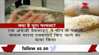 Warning! Plastic rice from China now on sale in India