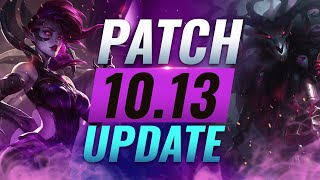 NEW UPDATE: BEST Champions TIER List – League of Legends Patch 10.13
