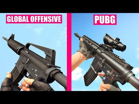 Counter-Strike Global Offensive Guns Reload Animations vs PUBG thumbnail