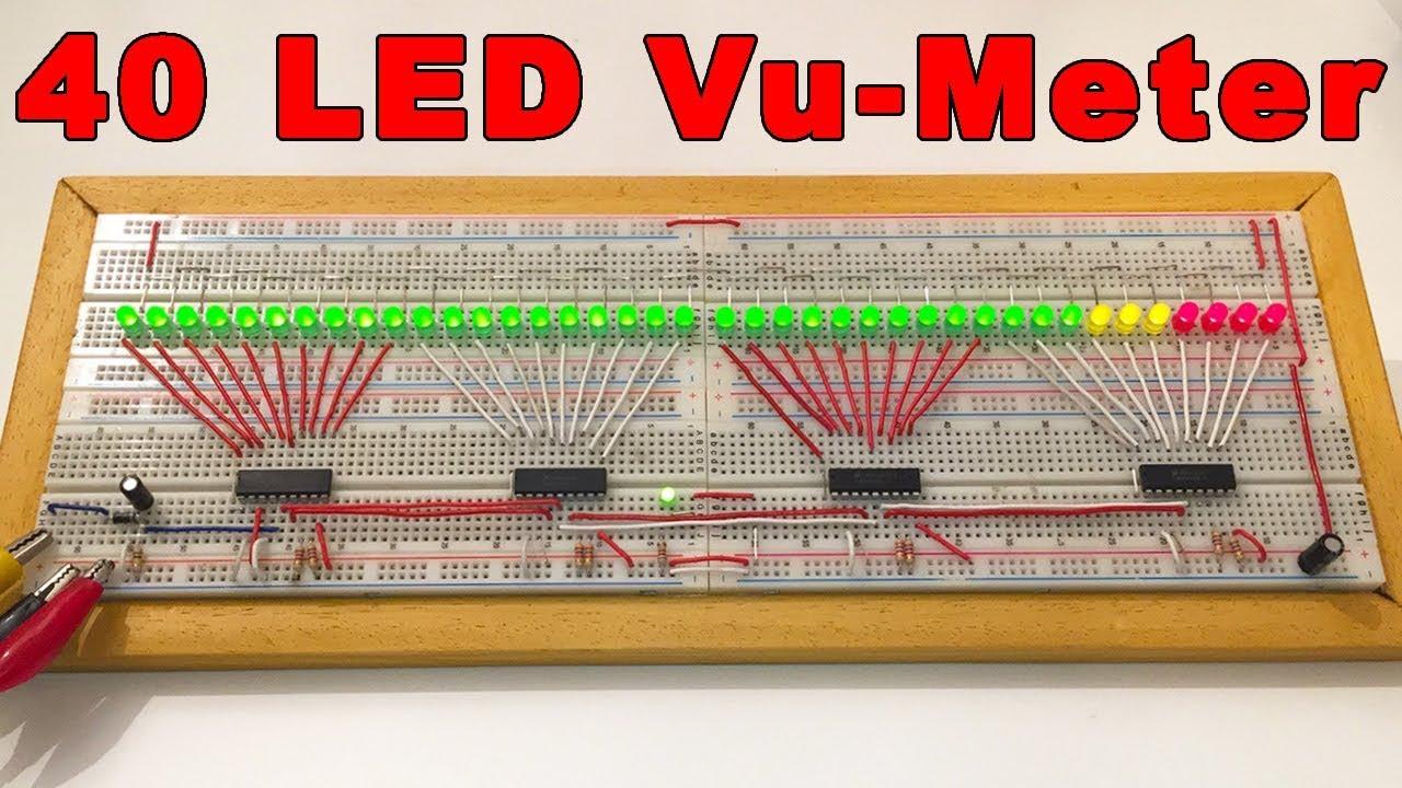 Lm3915 Vu Meter Circuit