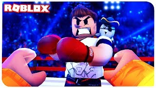 ALBERT BECAME a REAL BOXER! | ROBLOX ON RUSSIAN |