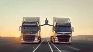 Жан Клод Ван Дамм в рекламе грузовиков Вольво