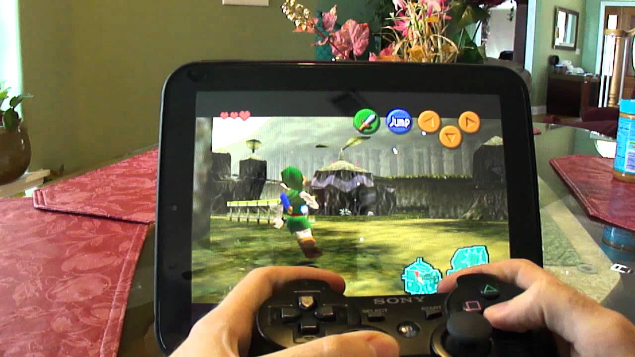 n64 emulator ps3 controller