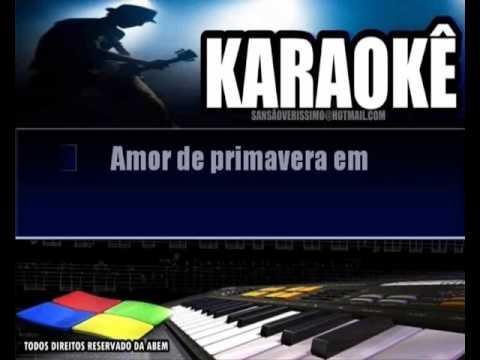 Karaoke José Augusto- Chuva De Verão