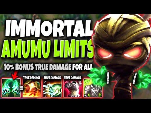 10%-bonus-true-dmg-for-everything-making-immortal-amumu-breaking-the-limits-🔥-lol-amumu-s10-gameplay