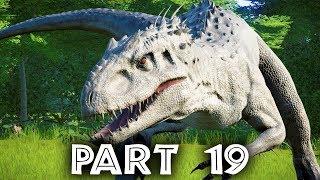 Jurassic World Evolution Gameplay Walkthrough Part 19 - INDOMINUS REX