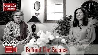 Behind The Scenes With Moneeza Hashmi | Speak Your Heart With Samina Peerzada