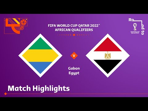 Gabon v Egypt | FIFA World Cup Qatar 2022 Qualifier | Match Highlights