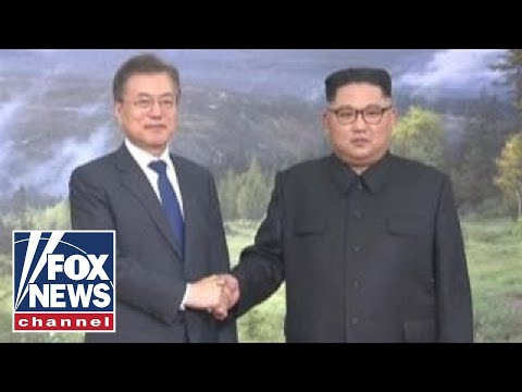North And South Korean Leaders Meet Overnight
