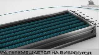 видео Производство железобетонных плит