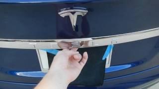 Tesla trunk max height adjustment