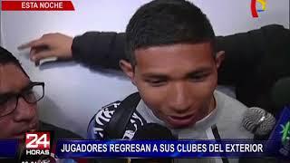 Más jugadores de la Selección regresan a sus clubes del exterior