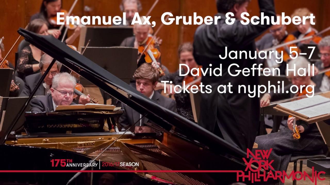 Emanuel Ax On HK Gruber's New Piano Concerto