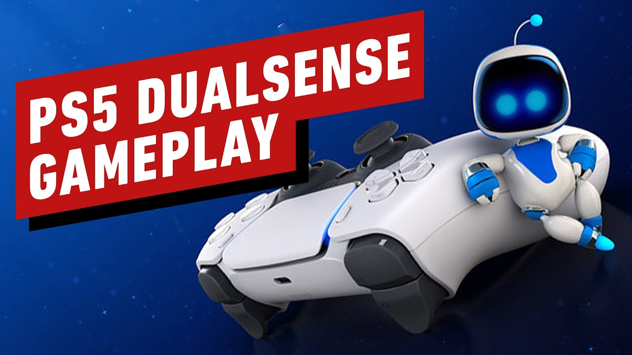 PS5 Gameplay: 3 Minutes of DualSense Hands-On in Astro's Playroom