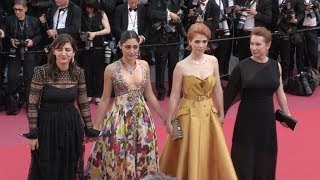 Emmanuelle Bercot, Eva Husson, Golshifteh Farahani and more on the red carpet for the Premiere of Le