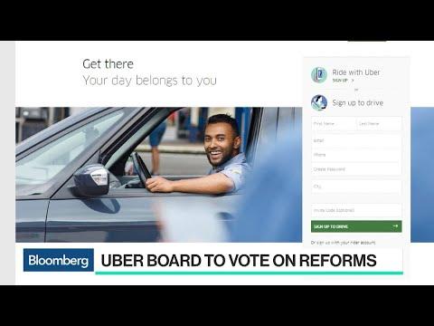 Uber Board Convenes to Vote on Reforms