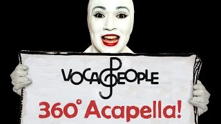 Flo Rida - Right Round | A Capella Mashup by VOCA PEOPLE (360° Music Video) thumbnail