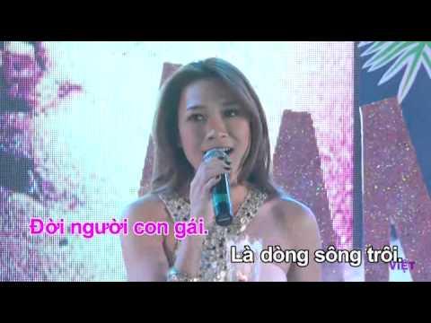 karaoke doi nguoi con gai nhac si trung le
