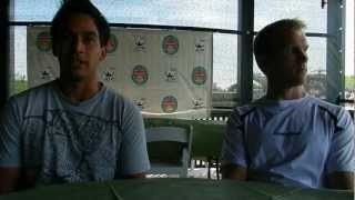 Treat Huey and Dom Inglot at 2012 ATP Newport