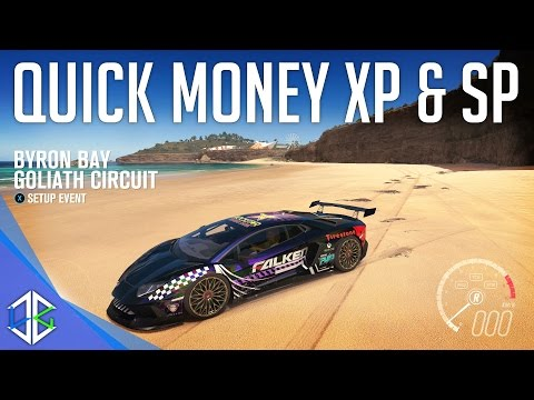 Forza Horizon 3 – How To Make Money XP & SP Fast!