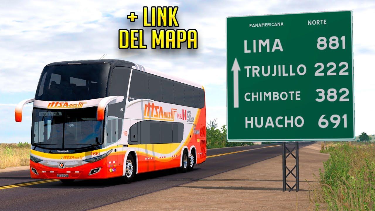 Trujillo - Piura + Link del mapa / ETS2 1.38 / New G7 1800